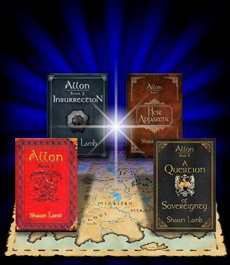 Allon, a fantasy series by Shawn Lamb