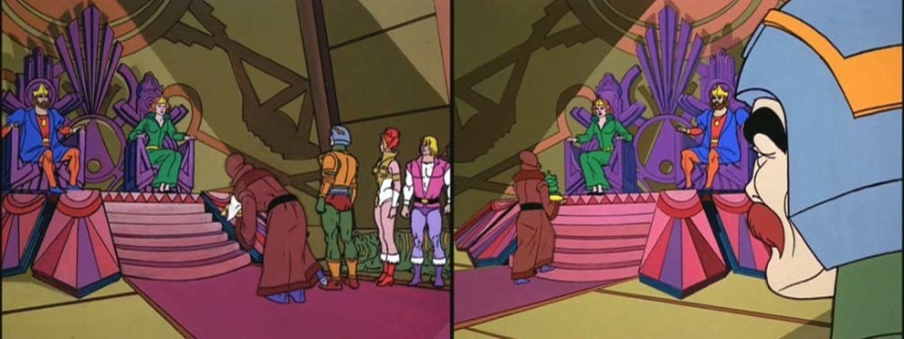 Eternia throne room continuity errors