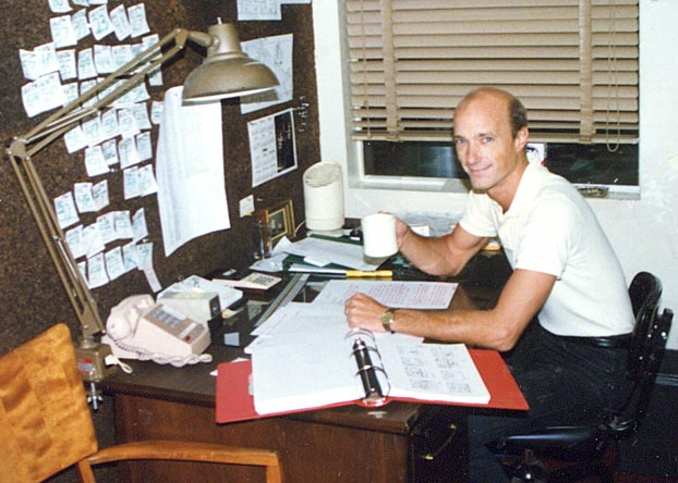 Bob Arkwright - Filmation storyboard supervisor, Reseda, CA 1986