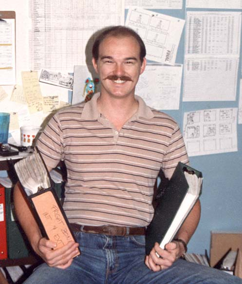 Robert Lamb, Storyboard Production Coordinator, Filmation's Ghostbusters
