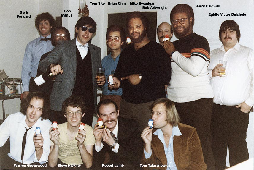 1983 Filmation storyboard staff