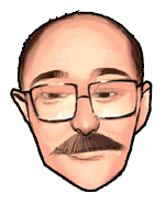 Robert Lamb caricature