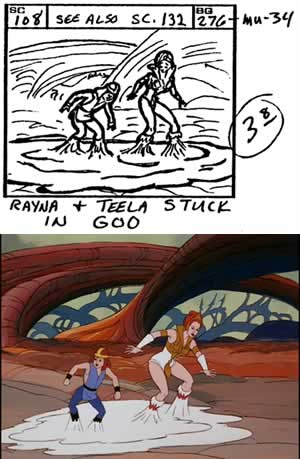 Fisto's Forest storyboard scene 108