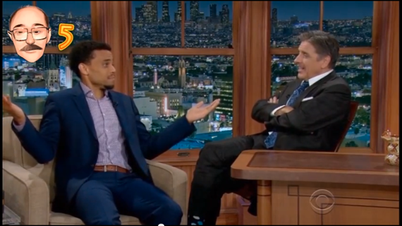 The Late Late Show with Craig Ferguson, Michael Ealy and Bob Lamb!
